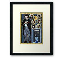 Cosmic Hobo Framed Print