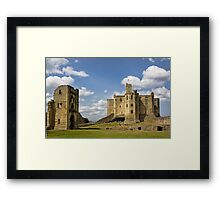 Warkworth Castle Framed Print