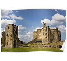 Warkworth Castle Poster