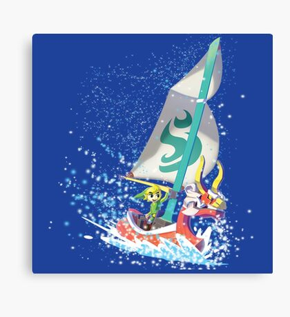Voyaging ~ WindWaker Canvas Print