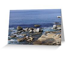Greetings from the Cape, (5) South Africa  Greeting Card