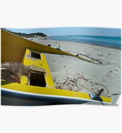 Beachcombing At Kum Limani Poster