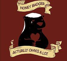 Honey Badger DOES Cares by bearsbearsbears