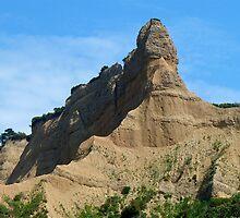Gallipoli ...Blue, Clouds, Sphinx. by Ron Marton