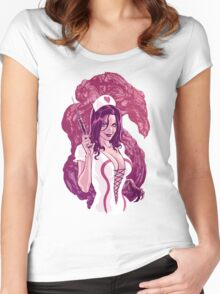 Sheila the Healer Women's Fitted Scoop T-Shirt