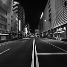 Asakusa highway by Alan Black