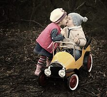 First Kiss by Annette Blattman
