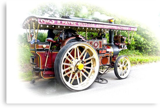 Steam Traction Engine #3 by Trevor Kersley