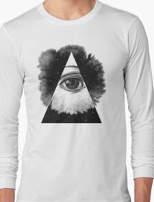 The Eye In The Sky Long Sleeve T-Shirt