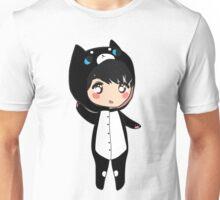 Chibi Osric - Black Cat Kigurumi Unisex T-Shirt