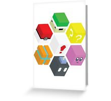 Nintendo Cubed Greeting Card