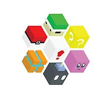 Nintendo Cubed Photographic Print