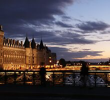 Sunset along the Seine  by Brian Middleton