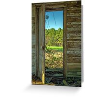 When One Door Closes, Another Opens Greeting Card