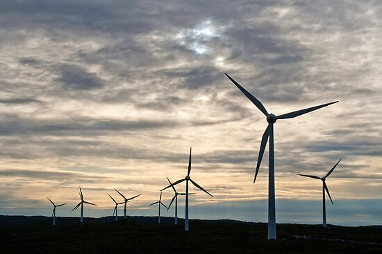 Wind Farm by pennyswork