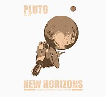 Pluto Flyby - New Horizons Unisex T-Shirt
