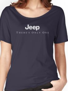 Jeep There's Only One Women's Relaxed Fit T-Shirt