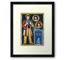 Technicolor Adventurer Framed Print