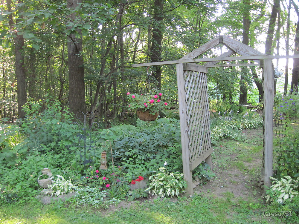 Entrance to Our Back Yard by teresa731