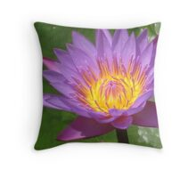 Packed full of Purple Punch Throw Pillow