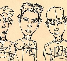 Blink 182 by bjohnson52