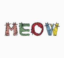 Cat Meow T Shirt by simpsonvisuals