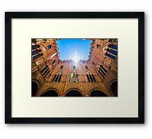 Palazzo Pubblico Framed Print