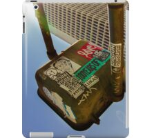 Walk, Wait and Leave Your Mark iPad Case/Skin