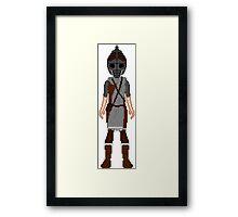 Skyrim 8-bit Dawnstar Guard Framed Print