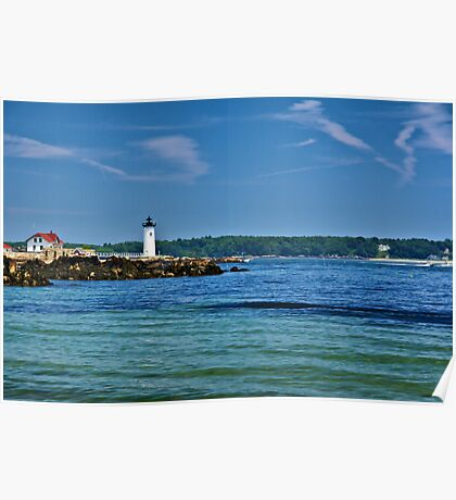 Newcastle NH Lighthouse Poster