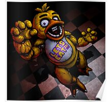 Five Nights at Freddy's Chica Horror Poster Poster