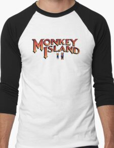 Monkey Island in Chains Men's Baseball ¾ T-Shirt