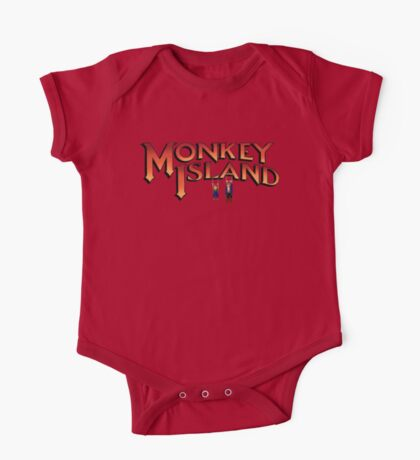 Monkey Island in Chains One Piece - Short Sleeve