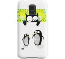 Paper Penguins  Samsung Galaxy Case/Skin