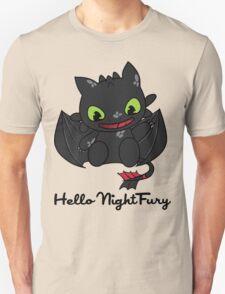 Hello Night Fury Unisex T-Shirt