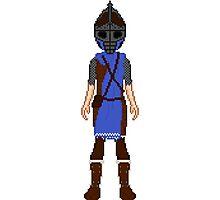 Skyrim 8-bit Falkreath Guard Photographic Print
