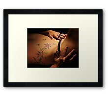 Sister Mary's secret Framed Print