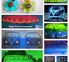Happy Hippy Lovemobiles by ©The Creative  Minds