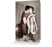 LOA - Alexander and Hephastion 2 Greeting Card