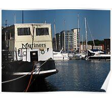 Mariners Restaurant, Ipswich Waterfront Poster