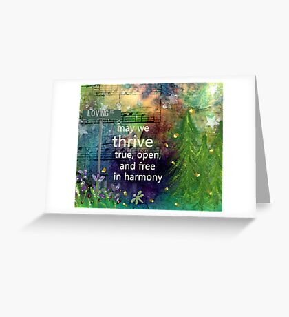 Thrive Prayer from Loving Rd Greeting Card