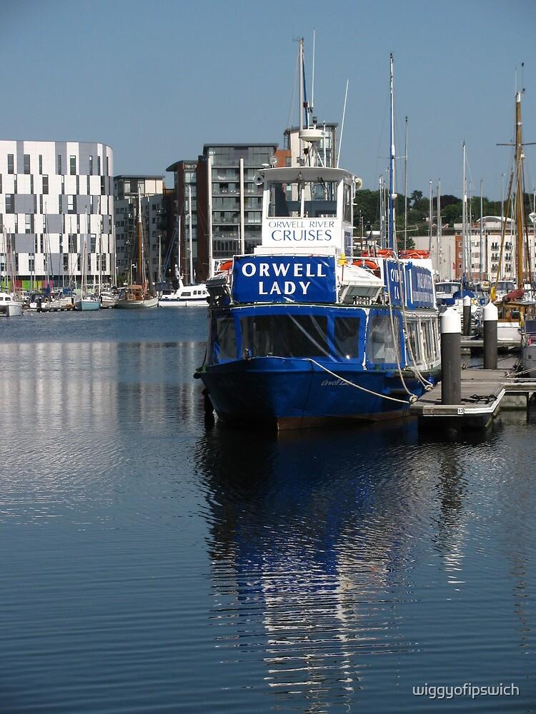 The Orwell Lady, Ipswich Waterfront by wiggyofipswich