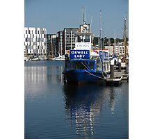 The Orwell Lady, Ipswich Waterfront Photographic Print
