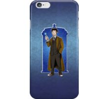 The Doctor - No. 10 iPhone Case/Skin
