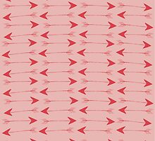 Pink Arrows by Charlotte Anderson