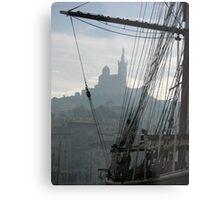 Le Vieux Port of Marseille Metal Print