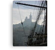 Le Vieux Port of Marseille Canvas Print