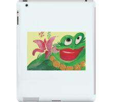 Big Momma Hula Frog iPad Case/Skin