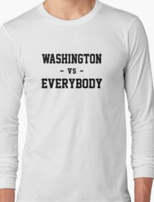 Washington vs Everybody Long Sleeve T-Shirt