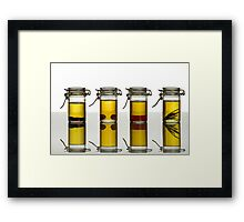 aromatic olive oils Framed Print